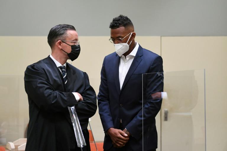 Körperverletzungsprozess gegen Jérôme Boateng begonnen (© 2021 AFP)