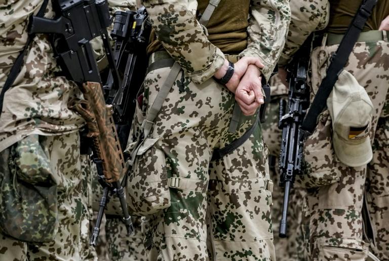Besondere Auslandseinsätze können Berufssoldaten doppelt angerechnet werden (© 2021 AFP)