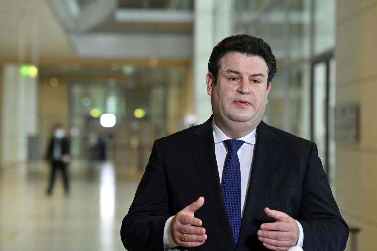 Arbeitsminister Heil wirft Linkspartei unrealistische Wahlversprechen vor (© 2021 AFP)