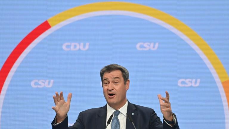 Söder verstärkt Angriffe auf SPD-Kanzlerkandidat Scholz (© 2021 AFP)
