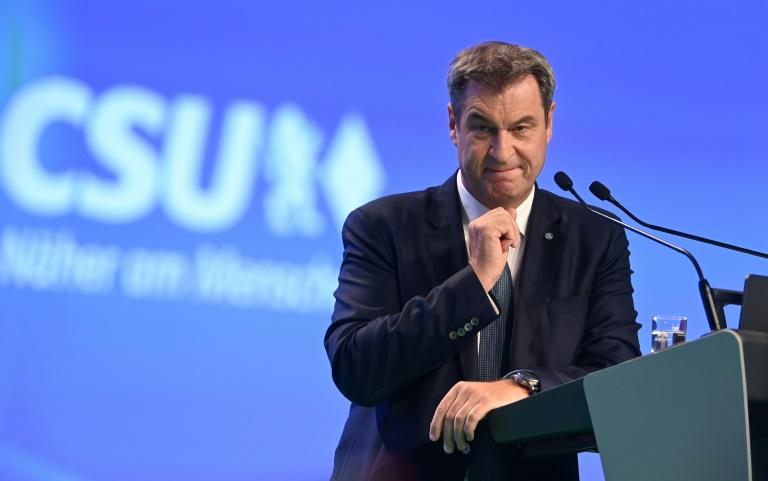 """Söder hat """"keinen Bock auf Opposition"""" (© 2021 AFP)"""