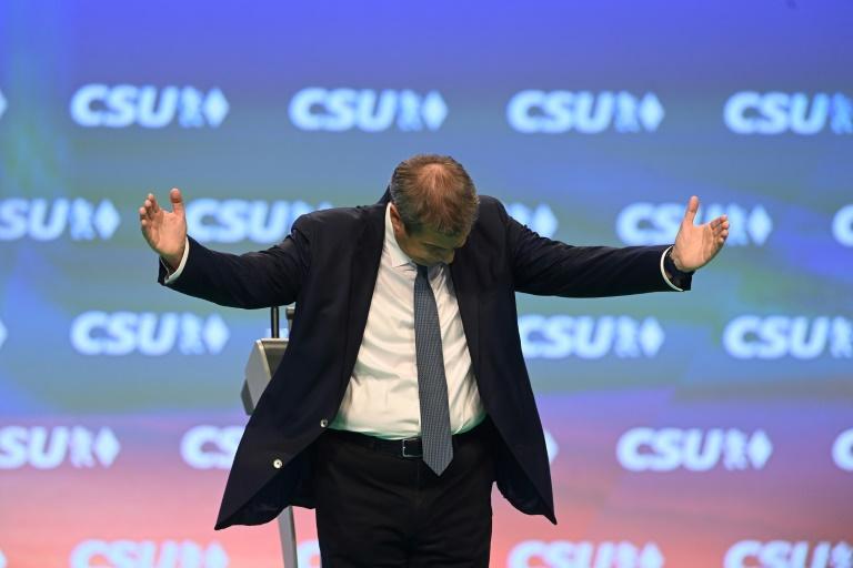 Laschet will auf CSU-Parteitag für Unterstützung im Wahlkampf werben (© 2021 AFP)