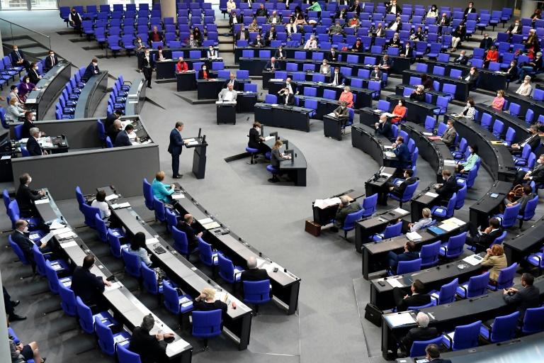 Abgeordnete sorgen sich um Arbeitsfähigkeit eines zu großen Bundestags (© 2021 AFP)