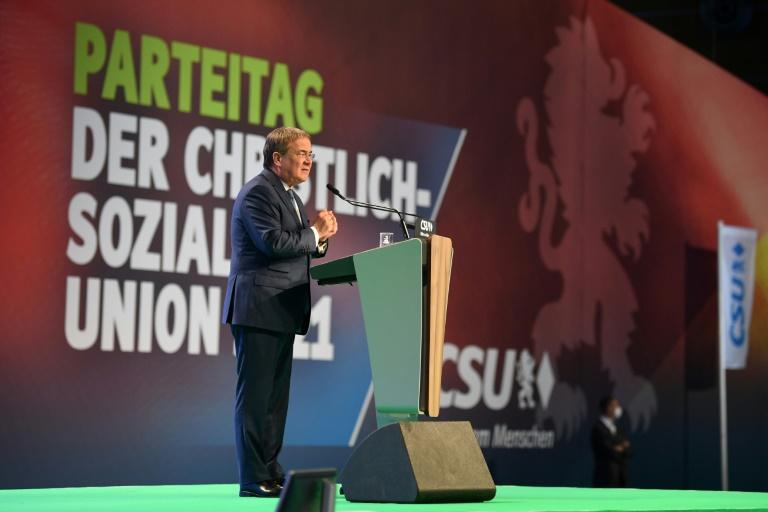 Laschet will zusammen mit Söder Deutschlands Zukunft prägen (© 2021 AFP)