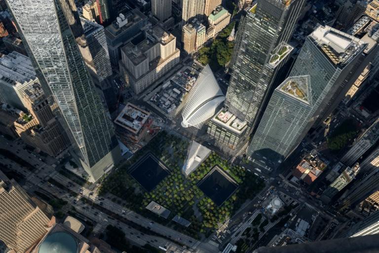 Bundesregierung gedenkt der Anschlagsopfer vom 11. September 2001 (© 2021 AFP)
