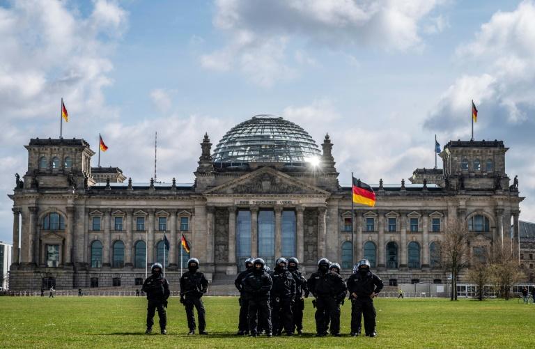 """Nach TV-Triell """"Vierkampf"""" von FDP, AfD, Linkspartei und CSU in der ARD (© 2021 AFP)"""