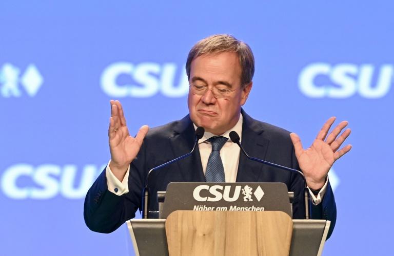 """Laschet will mit """"Sofortprogramm"""" Trendwende im Wahlkampfendspurt schaffen (© 2021 AFP)"""