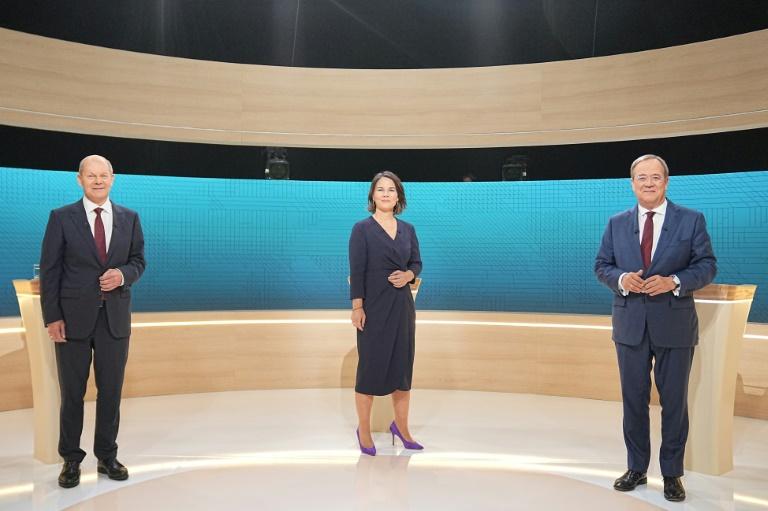 Auch zweiter TV-Dreikampf erreicht mehr als elf Millionen Zuschauer (© 2021 AFP)