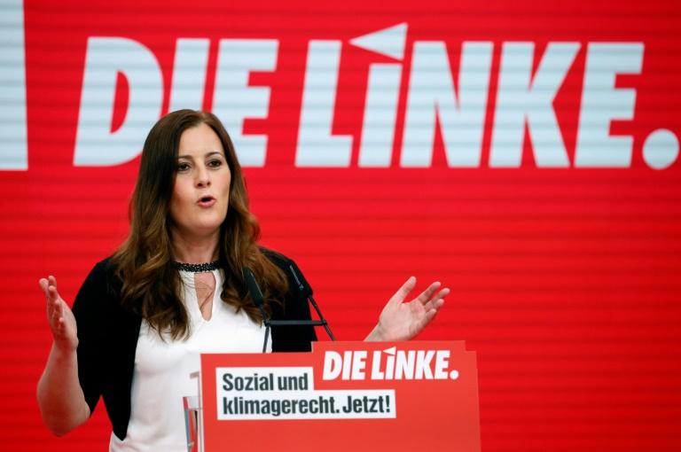 Wissler ruft SPD zu Gesprächen über Rot-Grün-Rot nach der Bundestagswahl auf (© 2021 AFP)