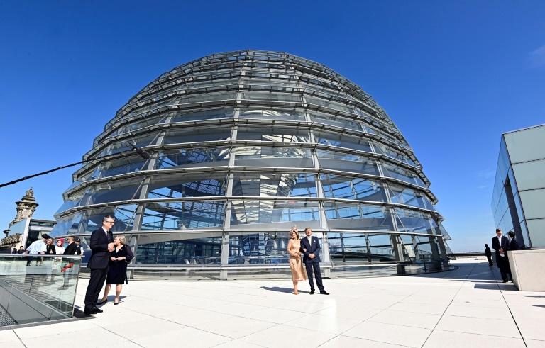 Vierkampf nach Dreikampf: Spitzenpersonal der kleinen Parteien wirbt um Stimmen (© 2021 AFP)
