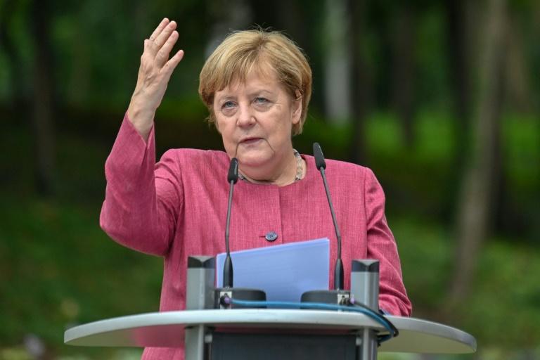 Merkel trifft Albaniens Ministerpräsidenten Edi Rama (© 2021 AFP)