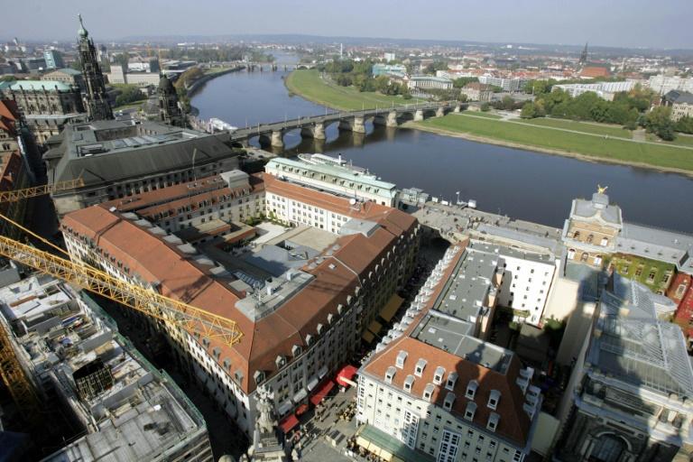 Verirrter Ballon löste vermutlich Stromausfall in Dresden aus (© 2021 AFP)