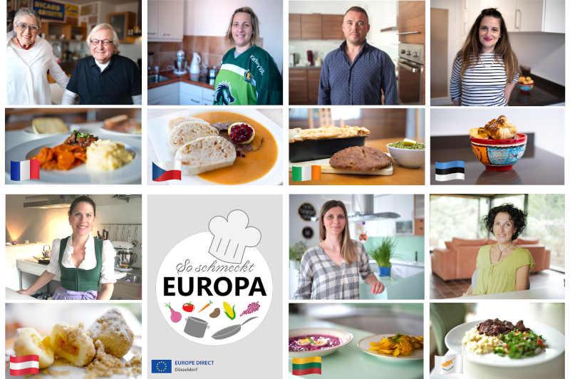 So kochen Düsseldorfs Europäerinnen und Europäer. (Foto: Stadt Düsseldorf)