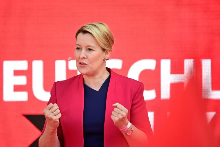 Neue Landesumfrage sieht SPD in Berlin weiterhin in Führung (© 2021 AFP)