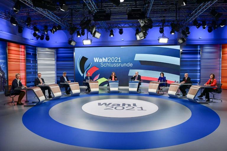 Debatte um Konsequenzen aus Tat von Idar-Oberstein bei TV-Siebenkampf (© 2021 AFP)