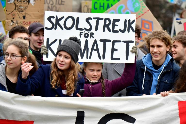 Lehrerverband kritisiert Teilnahme von Schülern an Klimastreik (© 2021 AFP)