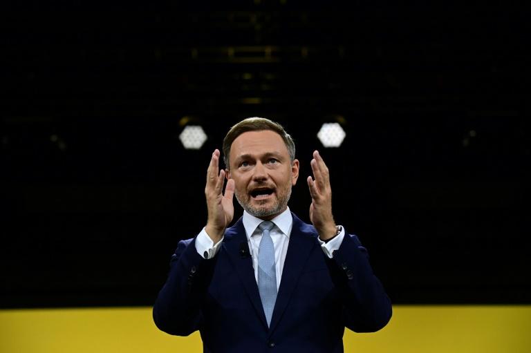 Lindner sieht sich nicht in der Rolle des Kanzlermachers (© 2021 AFP)