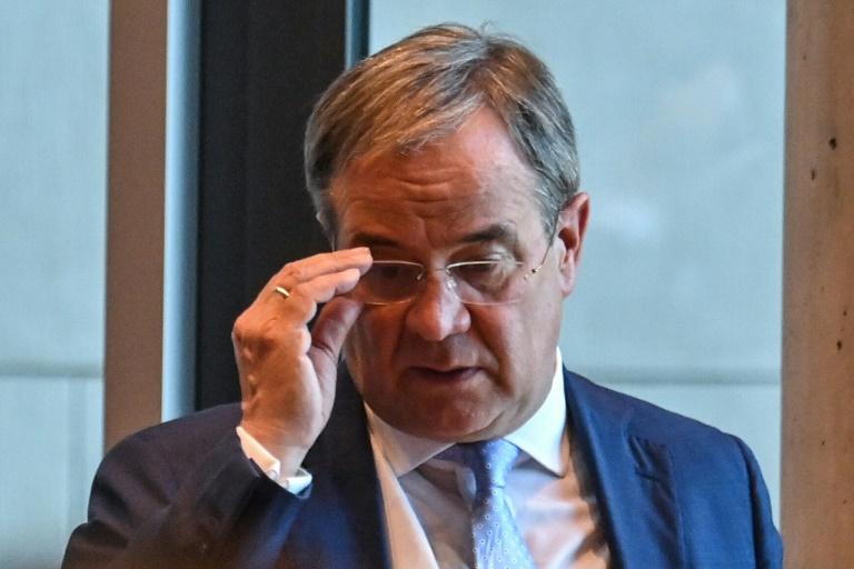 Sondierungsgespräch von Union und FDP am Sonntagabend (© 2021 AFP)