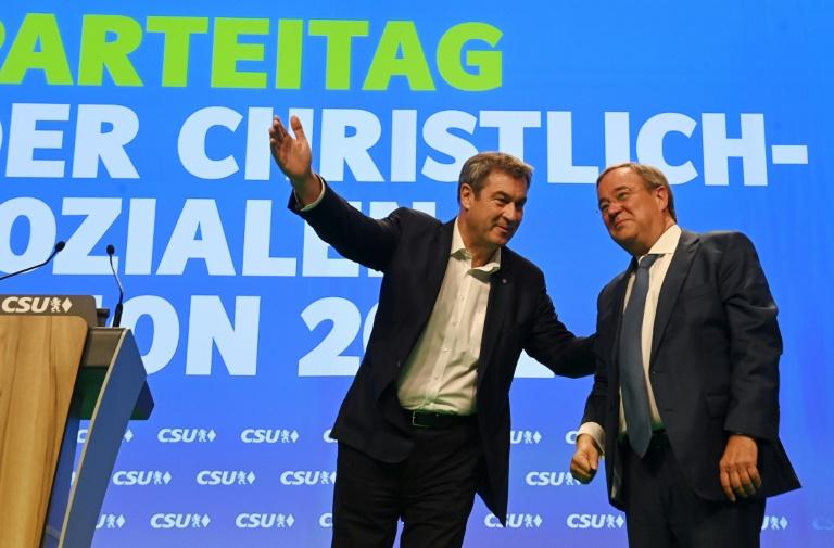 CSU-Team für Vorsondierungen steht - Noch keine Festlegung bei der CDU (© 2021 AFP)