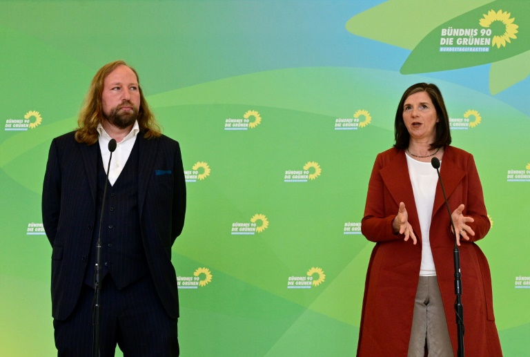 Grünen-Fraktionschefs bleiben kommissarisch im Amt (© 2021 AFP)