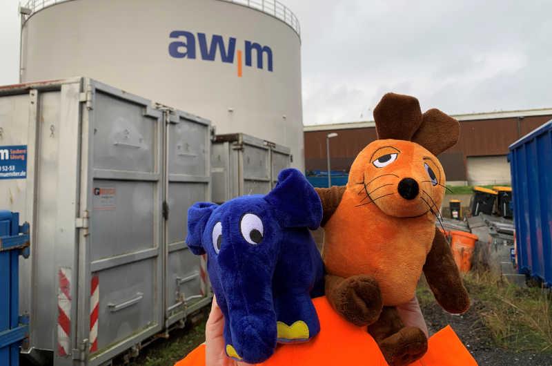 """Die AWM lädt am 3. Oktober zum """"Türöffner-Tag"""" der WDR-Maus zu einem Kreativwettbewerb ein. (Foto: Stadt Münster)"""