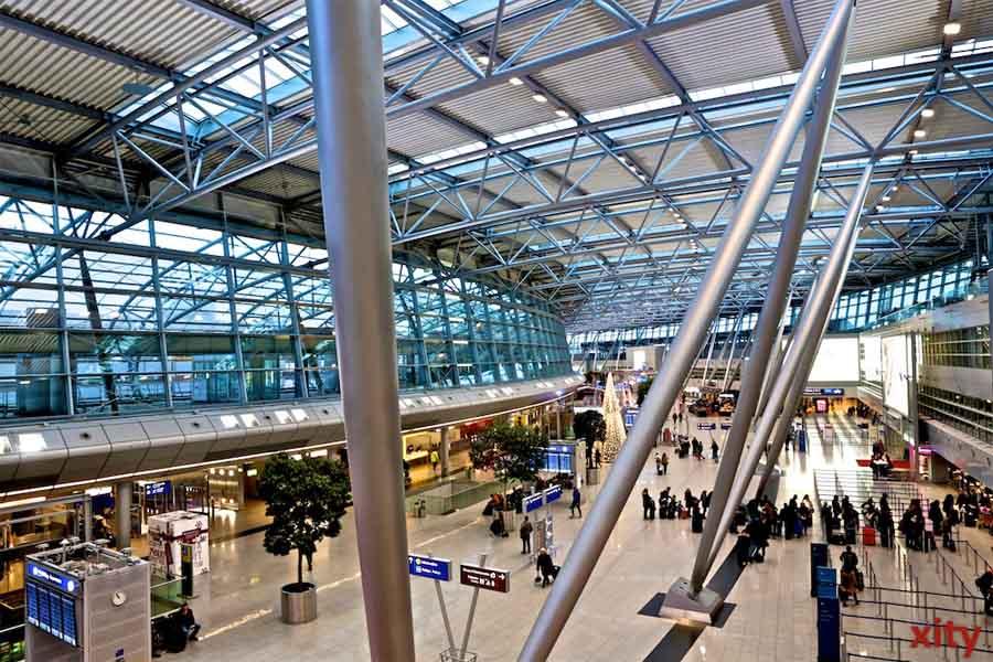 ver.di ruft Kabinenpersonal der Eurowings in NRW zu Streiks auf (Foto: xity)