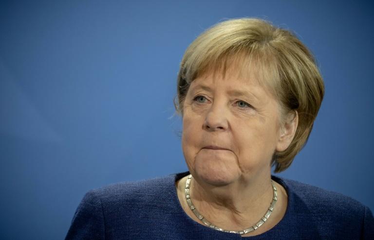 Merkel reist nach Israel (© 2021 AFP)