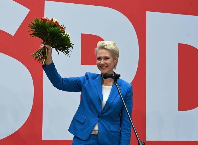 SPD in Mecklenburg-Vorpommern führt erstes Sondierungsgespräch mit CDU (© 2021 AFP)