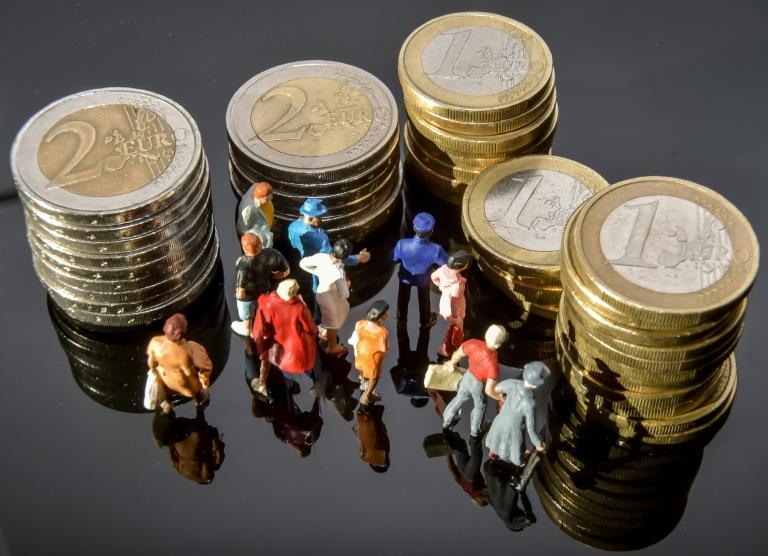 Stundenlohn unter zwölf Euro im Osten deutlich häufiger als im Westen (© 2021 AFP)