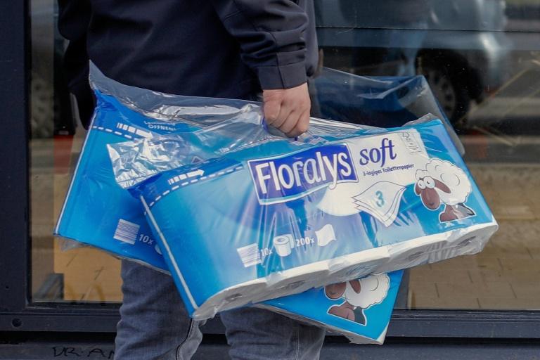 Toilettenpapier könnte im Winter deutlich teurer werden (© 2021 AFP)