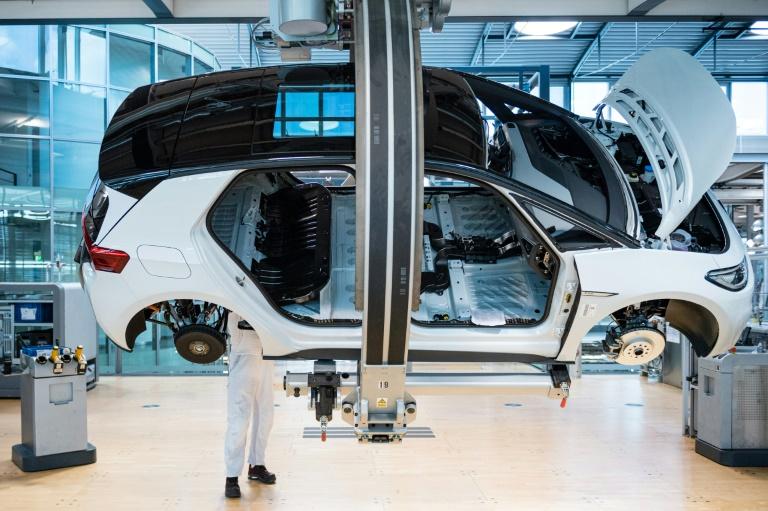 Lage der Autoindustrie im September deutlich verschlechtert (© 2021 AFP)