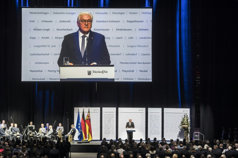 Steinmeier reist am Sonntag ins Ahrtal (© 2021 AFP)