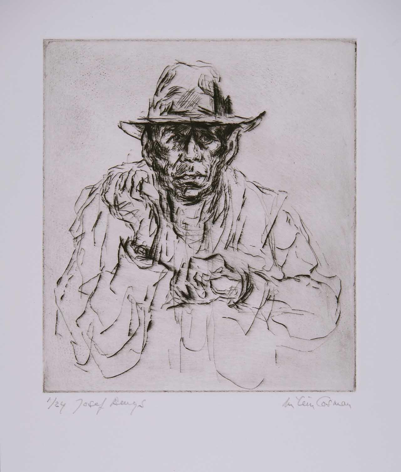 Joseph Beuys, Milein Cosman, 1983 (Foto: The Cosman Keller Art & Music Trust)