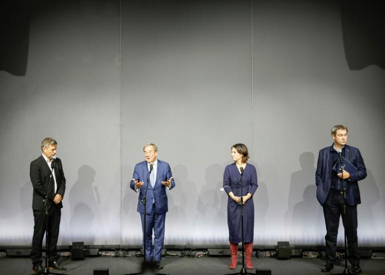 Unionschefs wollen Gespräche nach Treffen mit Grünen fortsetzen (© 2021 AFP)