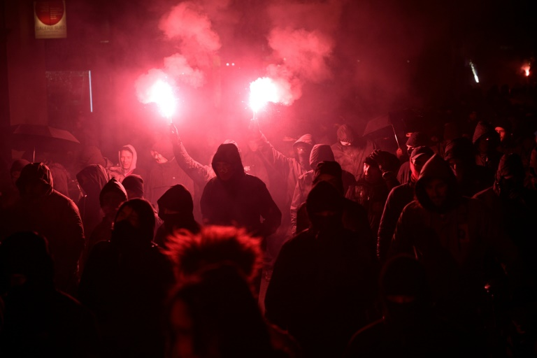 Zulauf bei Rechtsextremisten in Sachsen - Linke verüben mehr Gewalttaten (© 2021 AFP)
