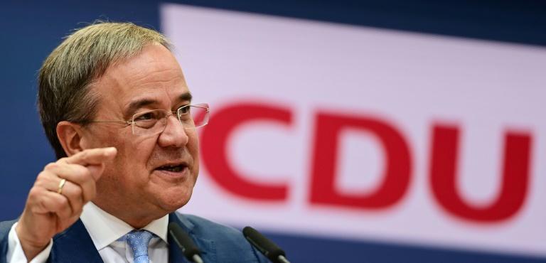 Laschet will Wüst als NRW-Regierungschef und CDU-Landesvorsitzenden vorschlagen (© 2021 AFP)