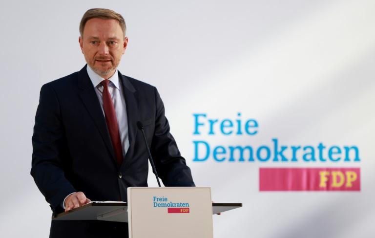 Lindner kündigt Dreiergespräch mit SPD und Grünen an (© 2021 AFP)