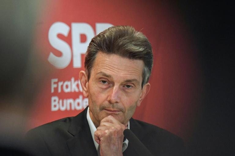 """Mützenich wirbt für Ampelbündnis als möglichen """"Glücksfall"""" für Deutschland (© 2021 AFP)"""