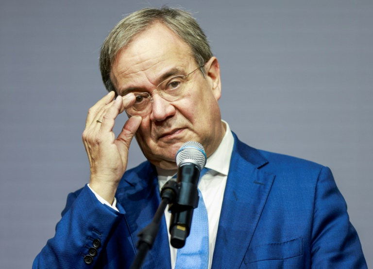 Union diskutiert im Schatten der Ampel-Gespräche Kurs und Laschets Zukunft (© 2021 AFP)