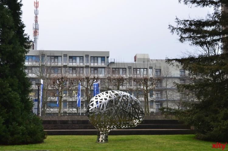 Düsseldorfer Impfmobil zum Semesterbeginn an Heinrich-Heine-Universität (Foto: xity)