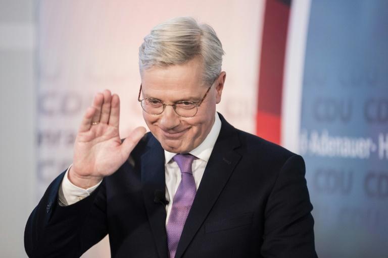 Umfrage sieht Röttgen im Ringen um CDU-Spitze vorn (© 2021 AFP)
