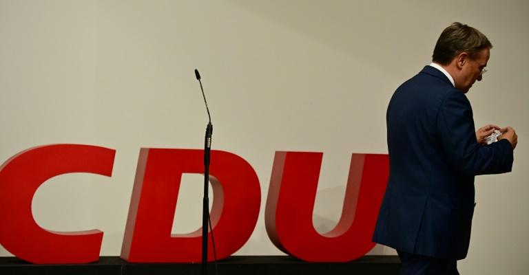 CDU debattiert über Mitgliederbefragung zu Laschet-Nachfolge (© 2021 AFP)