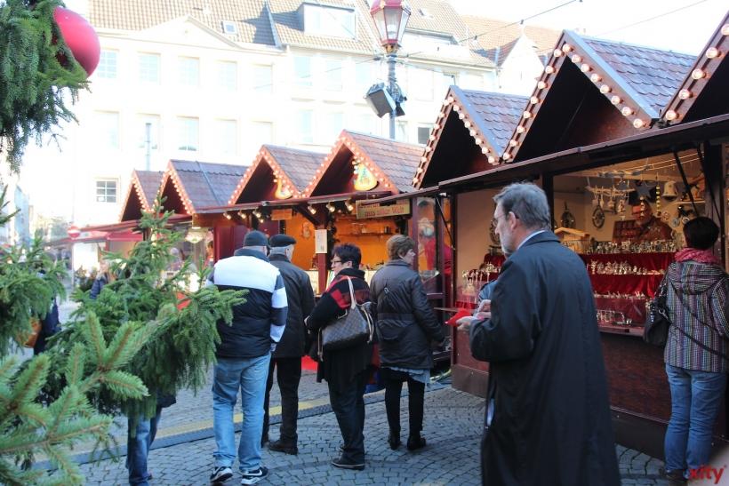 So ist der Düsseldorfer Weihnachtsmarkt in diesem Jahr geplant (Foto: xity)