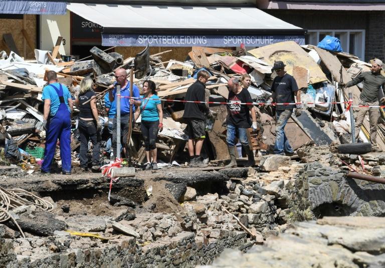 Untersuchungsausschuss zu Flutkatastrophe in NRW-Landtag nimmt Arbeit auf (© 2021 AFP)