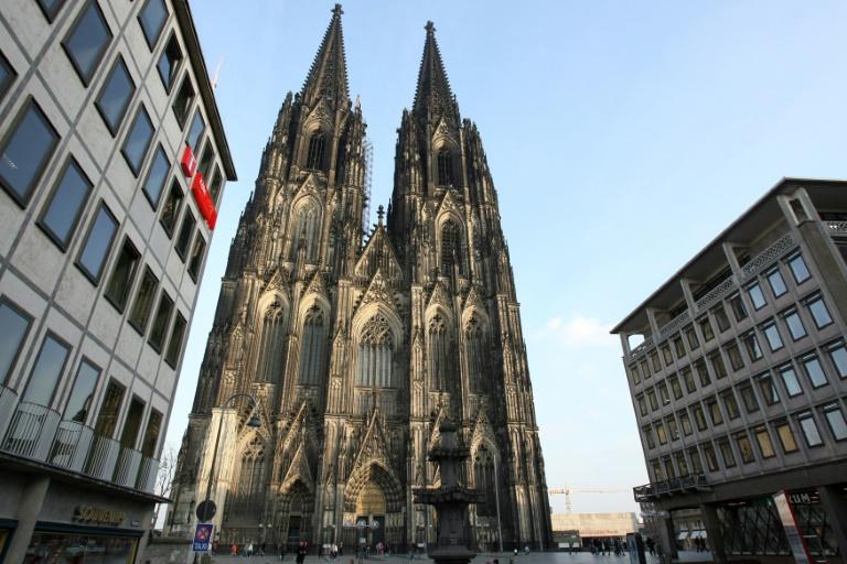 Zahl der Kirchenaustritte in Köln erreicht neuen Rekord (© 2021 AFP)