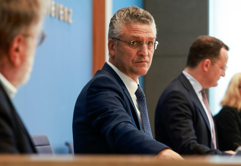 FDP und Grüne unzufrieden mit RKI-Chef Wieler (© 2021 AFP)