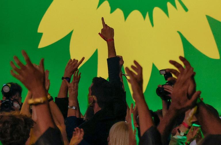 """Grünen-Nachwuchs sagt """"Nein"""" zu Jamaika - und """"Vielleicht"""" zur Ampel (© 2021 AFP)"""