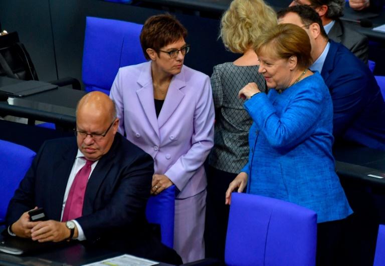 Kramp-Karrenbauer und Altmaier verzichten auf Bundestagsmandat (© 2021 AFP)