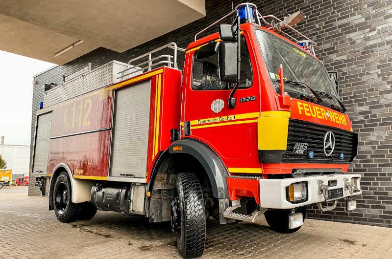 Ausgemustertes Feuerwehrauto aus Bocholt für Irak-Hilfe. (Foto: Stadt Bocholt)