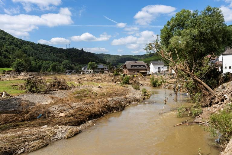 Umweltminister der Länder fordern mehr Geld vom Bund für Hochwasservorsorge (© 2021 AFP)